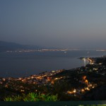 Nightpicture of nafpaktos